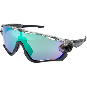 Oakley Jawbreaker Sunglasses grey ink/prizm road jade